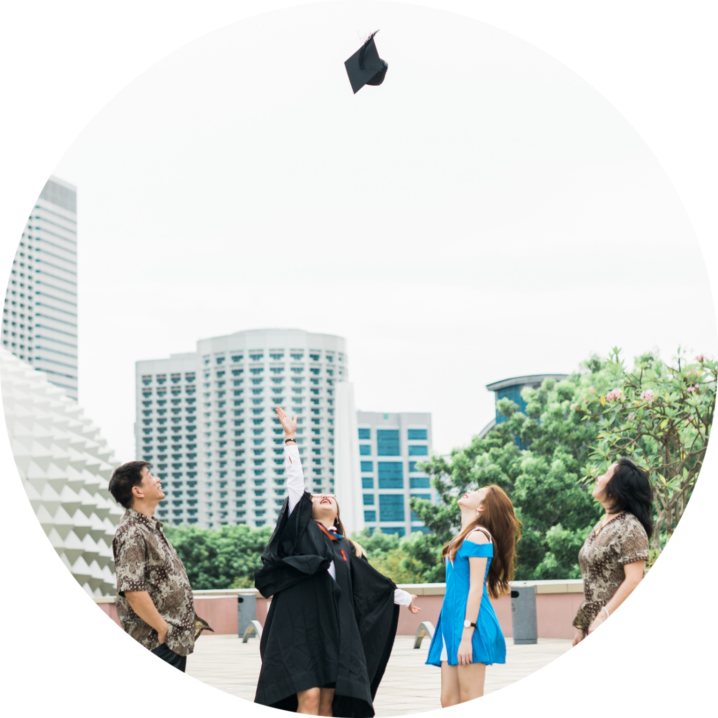 Singapore Graduation Photography