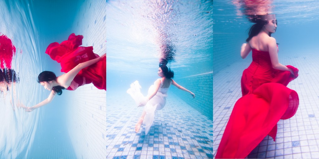 Underwater Photography - Yovita by LOVELENS